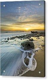 The Rock Acrylic Print by Debra and Dave Vanderlaan