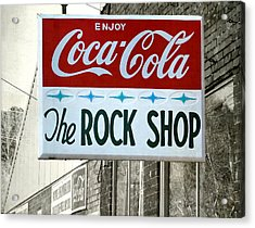 The Rock Shop Acrylic Print