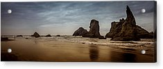The Rocks At Bandon Acrylic Print