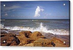 The Rocks V. Flagler County. Acrylic Print