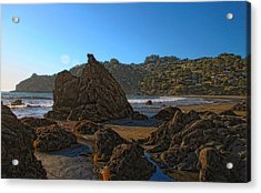 The Rocky Coast Iv Acrylic Print