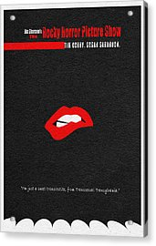 The Rocky Horror Picture Show Acrylic Print by Ayse Deniz