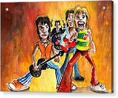 The Rolling Stones In Spain Acrylic Print