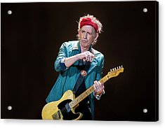 The Rolling Stones Perform At The 02 Acrylic Print