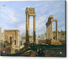 The Roman Forum Acrylic Print