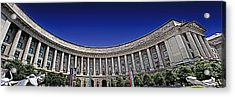 The Ronald Reagan Building And International Trade Center Acrylic Print by Tom Gari Gallery-Three-Photography