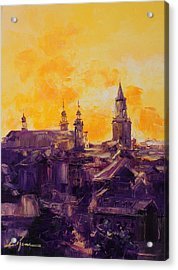 The Roofs Of Lublin Acrylic Print