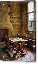 The Room On The Side Acrylic Print by Joan Carroll