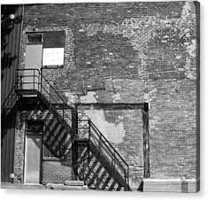 The Rooms Acrylic Print by Richard Stanford