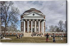 The University Of Virginia Rotunda Acrylic Print