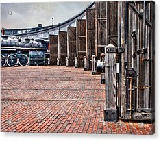 The Roundhouse Acrylic Print by Keith Armstrong