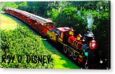 The Roy O. Disney Acrylic Print by David Lee Thompson