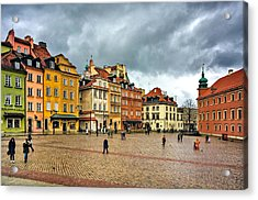 The Royal Castle Square Acrylic Print