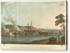 The Royal Dockyard At Chatham Acrylic Print by British Library