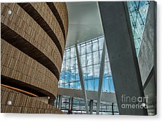 The Royal National Opera House  Interior In Oslo Norway Acrylic Print