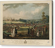 The Royal Review In Hatfield Park Acrylic Print