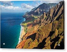 The Rugged Na Pali Coast Acrylic Print