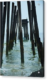 The Ruins Of The 59th Street Pier  Acrylic Print