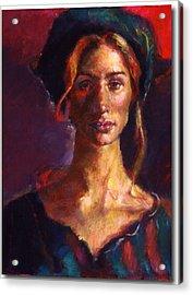 The Russian Woman Acrylic Print