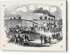 The Rutland Ploughing Meeting At Uppingham Acrylic Print