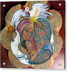 The Sacred Family Acrylic Print