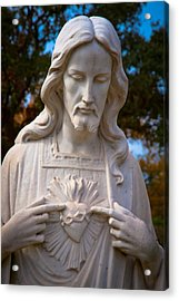 The Sacred Heart Acrylic Print