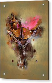 The Saddle II Acrylic Print by Graphicsite Luzern