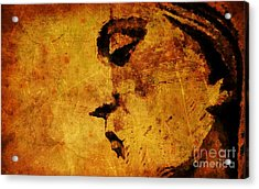The Sadness In Humanity Acrylic Print by Michael Grubb