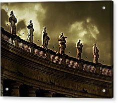 Acrylic Print featuring the photograph The Saints  by Micki Findlay