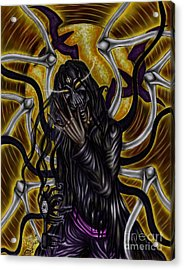 The Samhain King Acrylic Print by Coriander  Shea