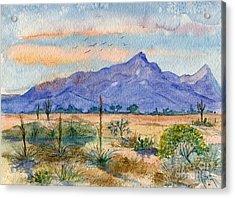 The San Tans Acrylic Print