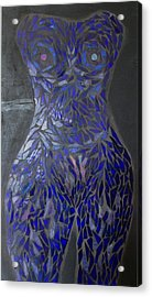 The Sapphire Woman Acrylic Print by Alison Edwards