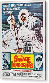 The Savage Innocents, Us Poster Art Acrylic Print