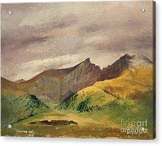 The Sawtooth - Colorado  Acrylic Print