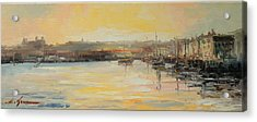 The Scarborough Harbour Acrylic Print