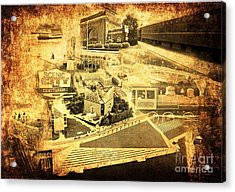 The Scenic City Acrylic Print by Joe A
