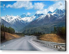The Scenic Glenn Highway  Acrylic Print