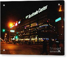 Acrylic Print featuring the photograph The Scott Trade Center by Kelly Awad