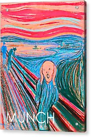 The Scream Acrylic Print