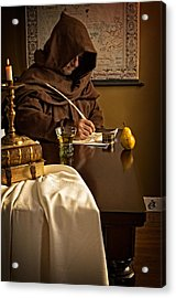 The Scribe Acrylic Print