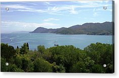 Acrylic Print featuring the photograph The Sea Beyond by Giuseppe Epifani
