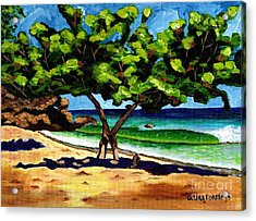 The Sea-grape Tree Acrylic Print