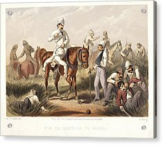 The Search For The Wounded Acrylic Print by British Library