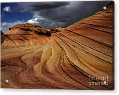 The Second Wave Acrylic Print