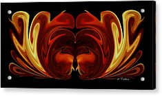 Acrylic Print featuring the digital art The Second Work by Roy Erickson