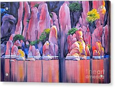 The Secret Cove Acrylic Print by Robert Hooper