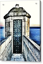 The Secret Door Acrylic Print