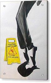 Acrylic Print featuring the painting The Secret El Secreto by Lazaro Hurtado