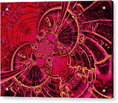 The Secret Life Of Hardware 1 Acrylic Print by Wendy J St Christopher