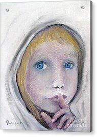The Secret Acrylic Print by Loretta Luglio